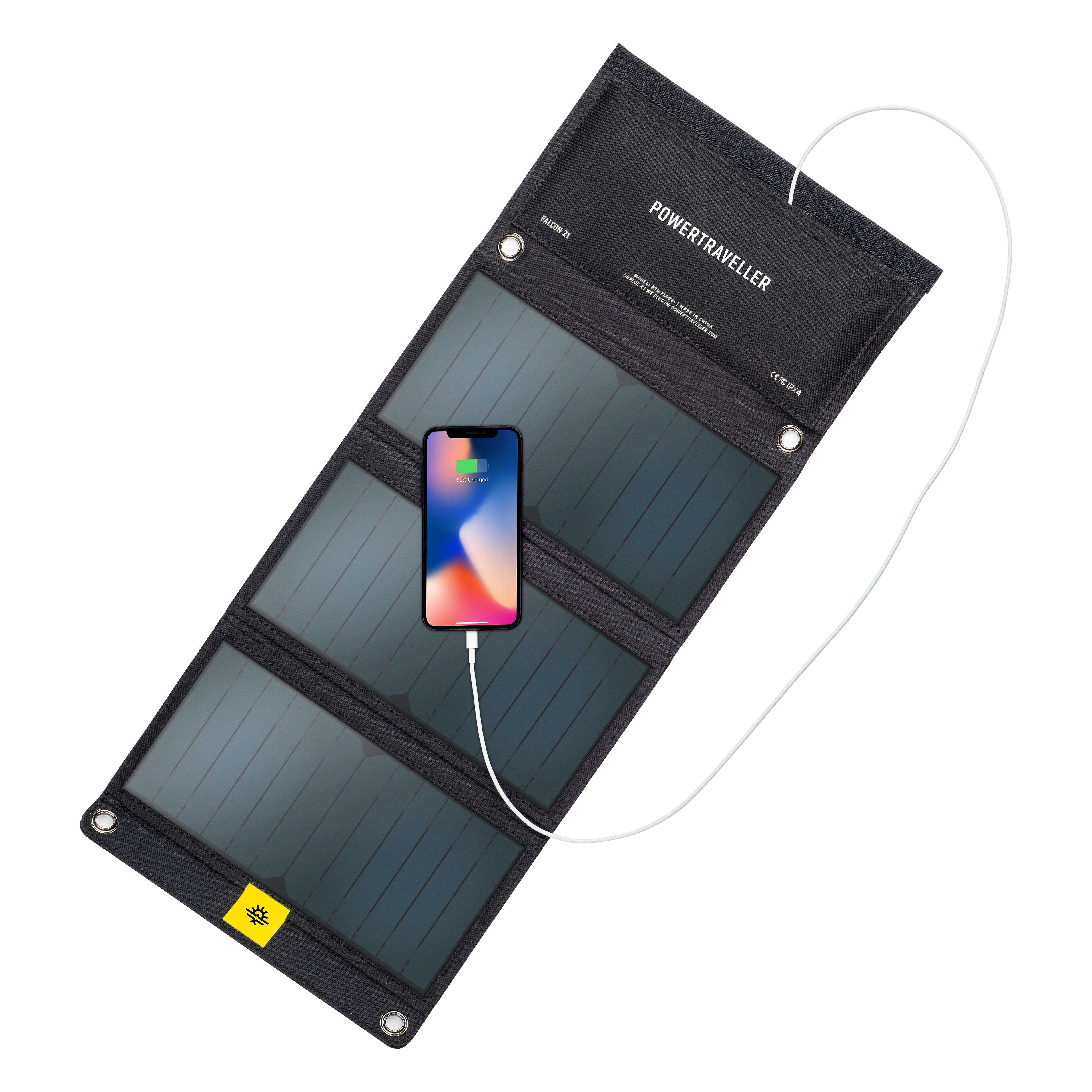 *New* Powertraveller Falcon 21 Foldable Solar Panel Charger